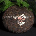 Made in 1985 Premium Yunnan puer tea,Old Tea Tree Materials Pu erh,357g Ripe puerh Tea Green Food for health care
