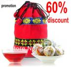 Promotion mini Tuo tea pu-erh tea chinese Colorful Yunnan Tuo 4 kinds flavor 16pcs gift bag puer tea pu'er
