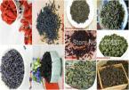 10 Different Flavors tea Dianhong/Zhengshanxiaozhong/Old puer/Ginseng/Black Oolong/Tieguanyin/Green/flower/goji berry/Dahongpao