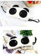 Mask Eye Sleep Cute Soft Cover Panda Blindfold Travel Shade New