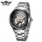Победитель мужские часы лучший бренд класса люкс механические часы для мужчин часы автоматический self-ветер анти-обмотки часы наручные часы Relogio Masculino