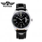 Победитель автоматические механические часы мужчин лучший бренд класса люкс мужские часы мода свободного покроя аналоговый наручные часы с коробкой Relogio Masculino