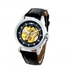 Победитель мода золото часы-скелетоны мужчины часы лучших брендов механические часы часы мужские наручные часы Relojes хомбре 2016