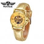 Победитель мода женщины часы люксового бренда механические часы для женщин часы женские часы наручные часы Reloj Mujer 2016
