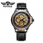 2016 победитель швейцарские скелет автоматические часы мужчины люксовый бренд механические часы для мужчин часы деловой человек наручные часы Montre Homme