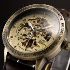 2016 Shenhua новый бренд старинные скелет автоматические часы для мужчин механические часы мужчины часы свободного покроя наручные часы Relogio Masculino