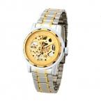 Победитель великолепная механические часы золотой дракон шаблон ветер - до популярные бизнес наручные часы из нержавеющей стали чехол и ремешок для часов