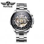 Победитель автоматические часы для мужчин часы люксовый бренд 2016 механические часы мужчины часы мода наручные часы Relogio Masculino