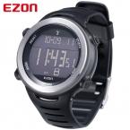 Ezon многофункциональный мужские часы мужчин лучший бренд наружной виды спорта часы для мужчин 5ATM водонепроницаемость мужчины наручные часы