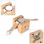 Нью-регулируемая деревянный циферблате чехол держатель поменять аккумулятор профессиональный часовщик ремонт инструмента