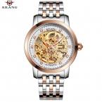 2016 новый AILANG бренд мужской автоматические механические часы мужчины супер-тонкие полный стали водонепроницаемый бизнес свободного покроя часы