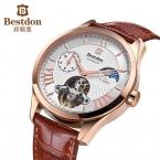 Bestdon турбийон автоматические механические мужчины часы-скелетоны топ люксовый бренд Relogio Masculino relojes mujer 2015 horloge