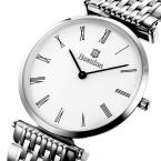 Bestdon ультра тонкий мужчин и женщин классический кварцевые часы любовника пара платье свободного покроя часы relogio masculino feminino наручные часы