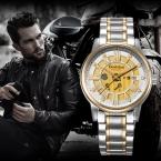 Bestdon бренд крутой парень автоматические механические мужчины армия наручные часы relogio masculino мото военные часы мужские наручные часы