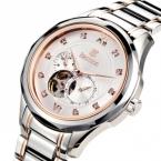 Bestdon бренд автоматическое self-ветер часы механическая ручная заводка часы мужчины наручные часы мужские часы