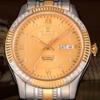 Bestdon мощный бренд мужской полный стали самостоятельно ветер часы мужские наручные часы часы мужчины люксовый бренд королевский relogio masculino часы