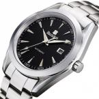 Bestdon классический бизнес meccanico полный стали мужчины механические с автоподзаводом ветер часы металлические часы люксовый бренд золото дизайнер мужской часы