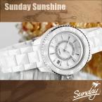 Kassaw тегов водонепроницаемые керамические мода горный хрусталь женщины свободного покроя кварцевые часы женщин повелительниц платье дизайнерские часы