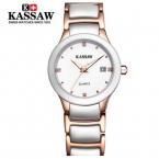 Kassaw 2016 платье мода пары часы световой роскошный веселые романтические керамические дизайнер boho известный бренд стильный шику браслет