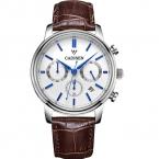 2016 Cadisen топ эксклюзивная модная простой бизнес кварцевые мужские золотые часы лучший бренд дизайнер платье джентльмен повседневная благородный наручные часы