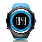 Ezon GPS работает счетчик калорий профессиональный фитнес-спортивные часы 50 м водонепроницаемые часы для мужчин черный красный синий T031