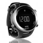 Ezon радиоволн калибровки время цифровые мужчины спортивные часы открытый свободного покроя бег плавание водонепроницаемые 50 м наручные часы Montre Homme