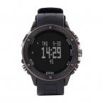 Мужская многофункциональный 50 м водонепроницаемый смартфон профессиональный альпинист спортивные часы H501 с высотомер барометр термометр-черная