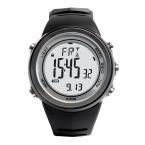 Мужская многофункциональный 50 м водонепроницаемый смартфон спорт на открытом воздухе альпинист часы H009 с высотомер барометр термометр-черная