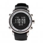 2016Men's многофункциональный 50 м водонепроницаемый смартфон спорт на открытом воздухе альпинист часы H506 с высотомер барометр термометр-черная