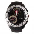 Мужская многофункциональный 50 м водонепроницаемый смартфон профессиональный альпинист спортивные часы H607 с высотомер барометр термометр-черная