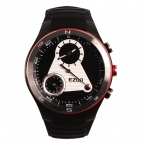 Мужская многофункциональный 50 м водонепроницаемый смартфон профессиональный альпинист спортивные часы H603 с высотомер барометр компас черный