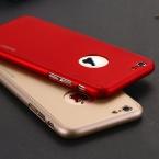 Полное покрытие кузова защитные жесткий тонкий чехол с закаленное стекло экрана протектор для iPhone 6 6 S 4.7 для iPhone 6 Plus / 6 S плюс