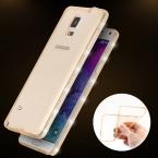 Тонкий шику алмаз рамка мягкие TPU чехол для Samsung Galaxy Note 4 / Note 5 N9200 горный хрусталь край блеск мобильный телефон крышка