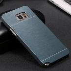 Чехол Galaxy Note, делюкс кисть узор металл чехол для 5 приталенный с Logo алюминий гибридный задняя часть Note 5