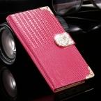 Чехол Galaxy Note кожа, полиуретан аксессуары алмаз чехол для Note 5 с ремешком карта слот стильный женщины телефон для 5 N9200
