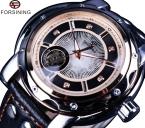 Forsining спортивная алмаз стиль малый набор скелет дизайн автоматические механические часы мужчины часы лучший бренд класса люкс мужчины спортивные часы
