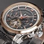Forsining турбийон дизайнер месяц день дата дисплей мужчины часы автоматическая мужчины люксового бренда большое лицо часы золотые часы мужчины часы