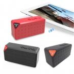 Bluetooth портативный x3-спикер, Беспроводной громкой связи TF FM радио встроенный микрофон mp3-сабвуфер со съемной аккумулятор 2015 новый