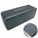 Портативный мини altavoz Bluetooth динамик, Кожаный чехол parlantes беспроводной динамик звуковая система 3D стерео музыку объемного portátil