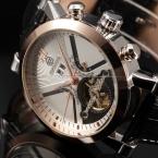 Календарь Дата День Дисплей Золота Мужские Часы Спорт Механические Тег Час Часы Мужчины Люксовый Бренд Автоматическая Tourbillon Часы
