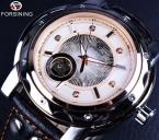 Forsining алмазный стиль малый набор скелет дизайнерские часы мужчины люксовый бренд автоматического часы мужчины спорт свободного покроя часы Erkek специальную