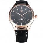 Forsining простой дизайнер роскошные часы из розового золота чехол мужские часы лучший бренд класса люкс автоматические механические часы часы мужчины Montre