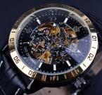 Orkina Ретро Скелет Дизайн Небольшой Набор Украшения Мужские Часы Лучший Бренд Класса Люкс Автоматические Часы Роскошные Часы Мужчины Часы Мужчин