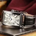 Orkina ретро серии прямоугольник уникальный диаграмма направленности синий специальное конструкторское руки Montre Homme кварц мужские часы лучший бренд класса люкс