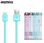 Usb кабель для Apple iPhone 5 5S 6 6 плюс 6 s SE для iPad Air мини про первоначальной Remax 100 см заряда передача данных