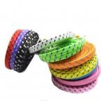 1 м / 2 м / 3 м высокое качество плетеный плоским 30 контакт. USB синхронизации данных зарядный кабель заряжателя шнур для iPhone 4 4S 3 г iPad 2 3 iPod Nano