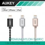Aukey молния в USB кабель 8 контакт. синхронизации и кабель для зарядки ( 3.3 футов / 1.2 м ) USB кабель для Apple , iPhone 6 s / 6 s плюс / iPad Pro