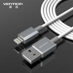 Конвенция последнее металла алюминиевый провод 8 контакт. USB дата синхронизации-зарядки кабель заряжателя 1 м для iPhone 5 5S 6 плюс iPad 4 , пригодный IOS8