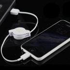 2015 горячая распродажа Выдвижной 8 контакт. к USB кабель для зарядки данных для iPhone 5 5c 5S 6 плюс iPad iPod для IOS7 IOS8 IOS9