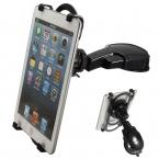 Новое ABS 360 град. Adjustabe 52 - 258 мм универсальный приборной панели автомобиля планшет держатель для Ipad для Samsung 11 дюймов планшет